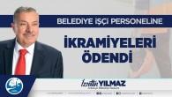 Antakya Belediyesi İşçi Personeline  çifte ikramiye