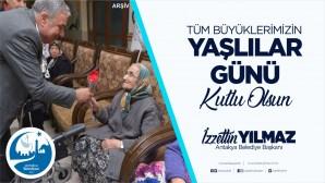 Antakya Belediye Başkanı İzzettin Yılmaz: Yaşlılarımız, hayatımızın en kıymetli değerleridir