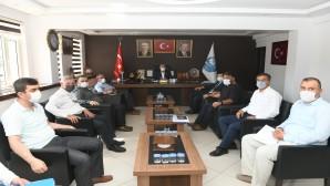 Başkan İzzetin Yılmaz  Belediye (KHK) Personeline müjdeyi verdi