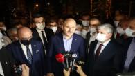 """İçişleri Bakanı Süleyman Soylu yangında zarar gören bölgeleri ziyaret etti: """"Elimizden gelen her şeyi yapacağız, hiç endişe etmeyin!"""
