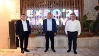 Başkan Savaş Adana ve Mersin  Büyükşehir Belediye Başkanlarını konuk etti