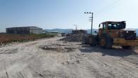Hatay Büyükşehir Belediyesinden Defne Çekmece'ye beton yol