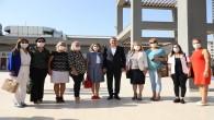 CHP'li yöneticilerden Başkan Lütfü Savaş'a ziyaret
