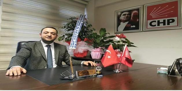 CHP ilçe Başkanı Ümit Kutlu: Cumhuriyet, Birlik Beraberliğimizin kanıtıdır