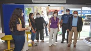 Antakya Belediyesi'nin COVİD-19  tedbirlerine yönelik denetimleri sürüyor