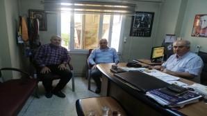 DEVA Partisi İl Başkanı Coşkun'dan Gazetemize ziyaret
