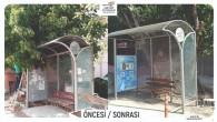 Hatay Büyükşehir Belediyesi Durakları yenileme çalışmalarına başladı