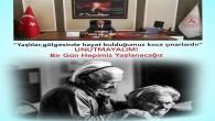 Hatay İl Sağlık Müdürü Dr. Mustafa Hambolat'tan 1 Ekim Dünya Yaşlılar günü mesajı:Yaşınıza uygun aşıyı yaptırın, sağlıklı kalın