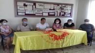 Hatay Eğitim sen 12 Ekim'de Yüz Yüze Eğitime Başlarken Basın açıklaması yaptı: Okullarda bulunacak öğretmen, öğrenci ve tüm eğitim emekçileri için maske ve siperlik mutlaka temin edilmelidir!