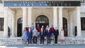 ERASMUS Öğrencilerinden Vali Rahmi Doğan'a Ziyaret