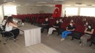 Hatay Büyükşehir Belediyesi ve HAT SU Personellerine Koronavirüs bilgilendirme toplantısı