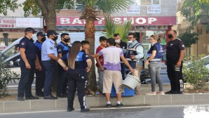 Hatay Büyükşehir Belediyesi Zabıtasından dilenci operasyonu