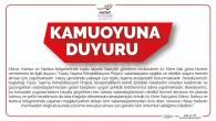 Hatay Büyükşehir Belediyesi'nden açıklama: Ekinci, Karlısu ve Narlıca bölgelerinde yaşanan mağduriyetten dolayı tüm vatandaşlarımızdan özür diliyoruz