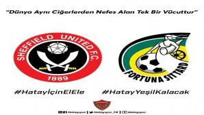 Atakaş Hatayspor'a Hollanda ve İngiliz takımlarından fidan bağışı