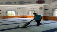 Antakya Belediyesi İbadethanelerdeki titiz çalışmalarını sürdürüyor