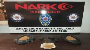 İskenderun ilçesinde sentetik uyuşturucu madde yakalandı