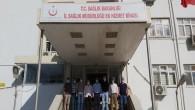Şükrü Kudret Özbakış'tan Dr. Mustafa  Hambolat'a ziyaret