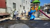 Antakya Belediyesi Park ve Yeşil alanlardaki onarım çalışmalarına devam ediyor