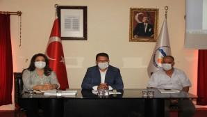 Samandağ Belediyesi Ekim Ayı olağan Meclis tkoplantısının ikincisi yapıldı