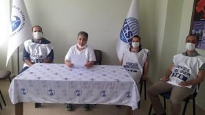 SES Hatay Şube Örgütlenme Sekreteri Zeynep Polat: Sağlık Emekçileri tükeniyor