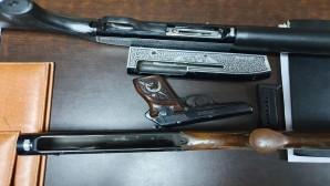 Seri numaraları kazınmış 3 tüfek ile bir ruhsatsız tabanca yakalandı