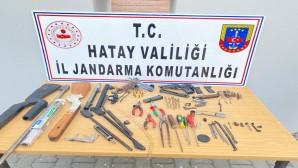 Kaçak  Silah tamir atölyesi ortaya çıkarıldı
