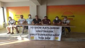 TÖB SEN: 10 Ekim Katliamını unutmadık, unutturmayacağız!