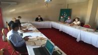 Vali Yardımcısı Tetikoğlu başkanlığında Korona Virüs toplantısı