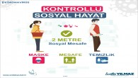 Antakya Belediyesi Koronavirüs İle Mücadelede Etkin Hizmet Sağlıyor: Sosyal mesafe ve maske kullanımına özen gösterelim