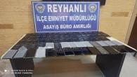 Reyhanlı ilçesinde gümrük kaçağı 72 cep telefonu ele geçirildi
