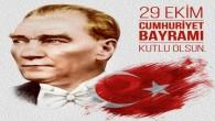 29 Ekim Cumhuriyet Bayramı  Kutlamaları bugün başlıyor