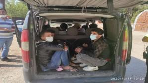 Kırıkhan ilçesinde kimliksiz 10 yabancı uyruklu yakalandı