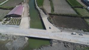 Samandağ Deniz-Çevlik arasındaki  köprü tamamlandı