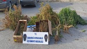Samandağ'da 2.850 gram kubar esrar yakalandı