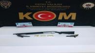 İskenderun'da 2 tabanca ve bir Av tüfeği yakalandı