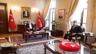 Vali Doğan'a Vergi Dairesi Başkanından  Ziyaret