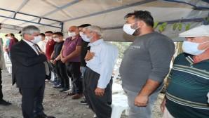Vali Rahmi Doğan'dan Şehit Uzman Çavuş Hüseyin  Yırtıcı'nın Ailesine Taziye Ziyareti