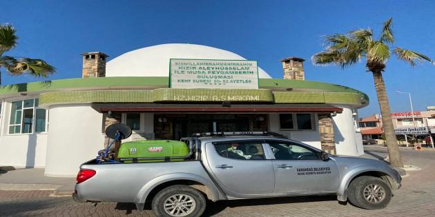 Samandağ Belediyesi, Dezenfekte çalışmalarını ilçe genelinde sürdürüyor!