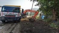 Hatay Büyükşehir belediyesi Yağmur suyu kanallarını temizlemeyi sürdürüyor
