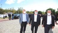 Başkan Savaş CHP heyeti ile Deprem Bölgesinde