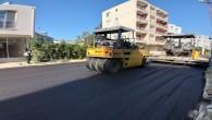 Hatay Büyükşehir Belediyesi'nden beton asfalt serimi