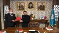 Başkan Yılmaz Hatay Ülkü Ocakları Başkanı Taşçı'yı ziyaret etti