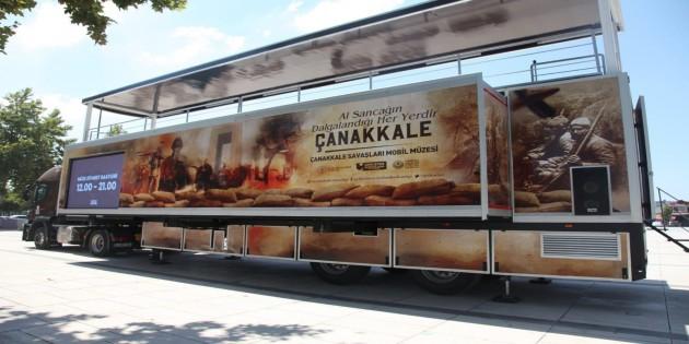 Çanakkale Muharebeleri Mobil Müzesi yarın Antakya'da