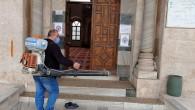 Antakya Belediyesinden Dezenfekte çalışmalarına devam