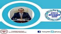 Hatay İl Sağlık Müdürü Dr. Mustafa Hambolat: Geleceğimizi Diyabetten koruyalım!