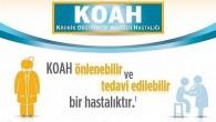 Hatay İl Sağlık Müdürü Dr. Mustafa Hambolat'tan 18 Kasım Dünya KOAH günü mesajı: COVID-19 hastalığı riskini KOAH hastalarında 5 kat arttırıyor!