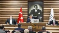 Hatay Büyükşehir Belediye Meclis Kasım toplantısında toplam 63 maddeyi görüştü