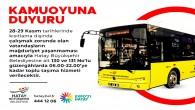 Hatay Büyükşehir Belediyesi'nden 130 ve 131 nolu güzergahlarda çalışan toplu taşıma otobüslerine ilişkin açıklaması!