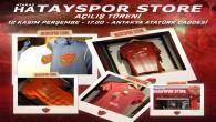 Atakaş Hatayspor Store yeni şubesinin açılışı bugün