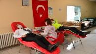 Emniyet Müdürü Vedat Yavuz ile Emniyet Mensuplarından Kan Bağışı
